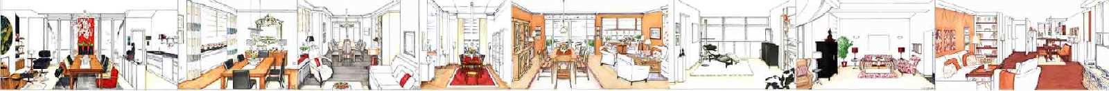 Wohnzimmer Planung Innenarchitekt