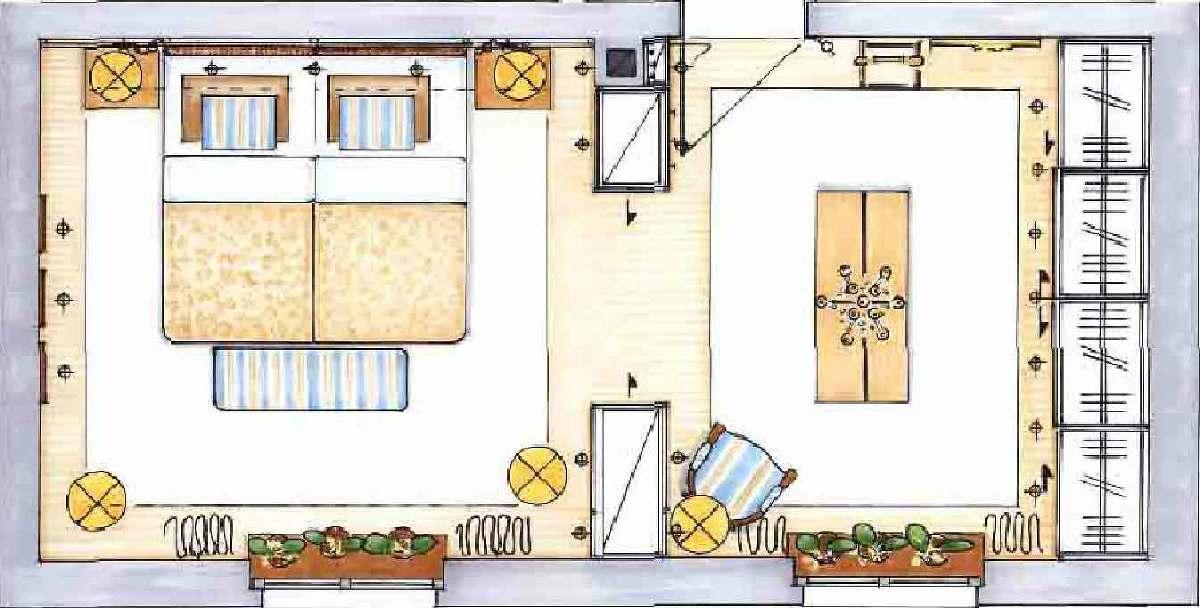 Schlafzimmer Einrichtung, Ankleide
