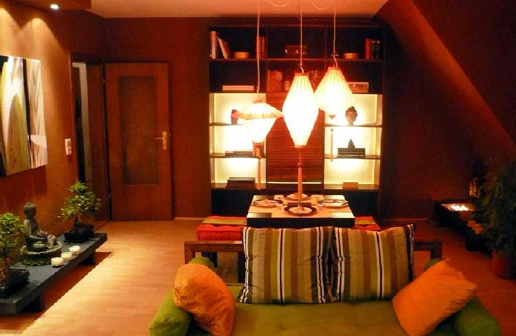Asien-Wohnzimmer-Innenarchitektur-Innenarchitekt