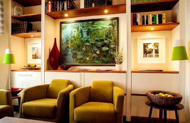 Hotel-Innenarchitektur-Lobby