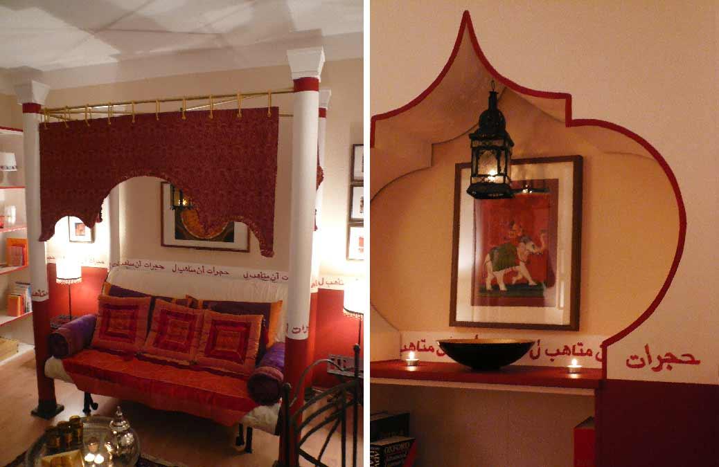 Innenarchitekt-Wohnraum-orientalisch