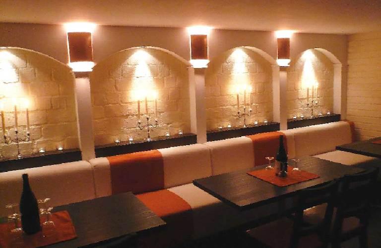 Innenarchitektur-Weinbar-Partykeller