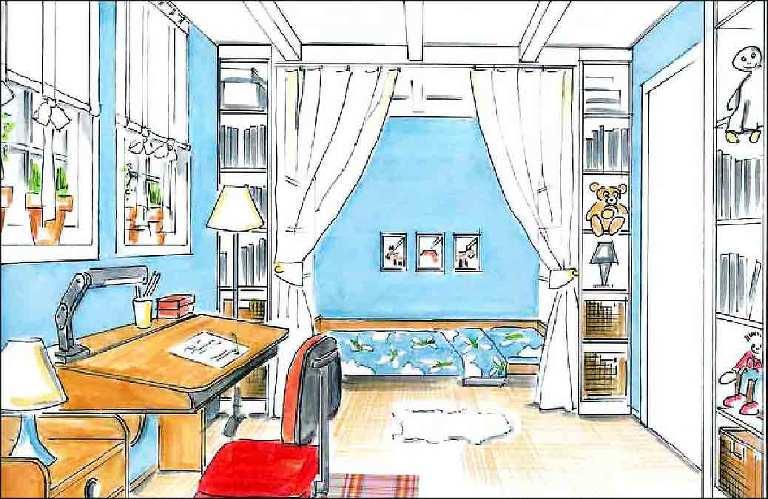 Jugendzimmer-Planung-Innenarchitekt