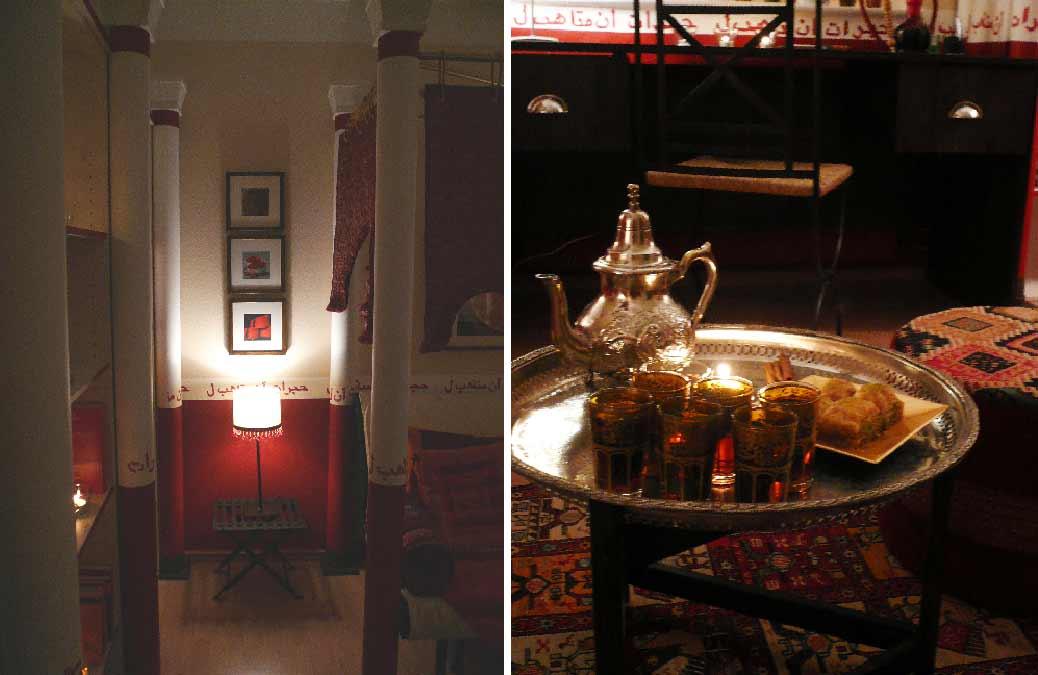 Orientzimmer- Innenarchitekt -Planung-Raum