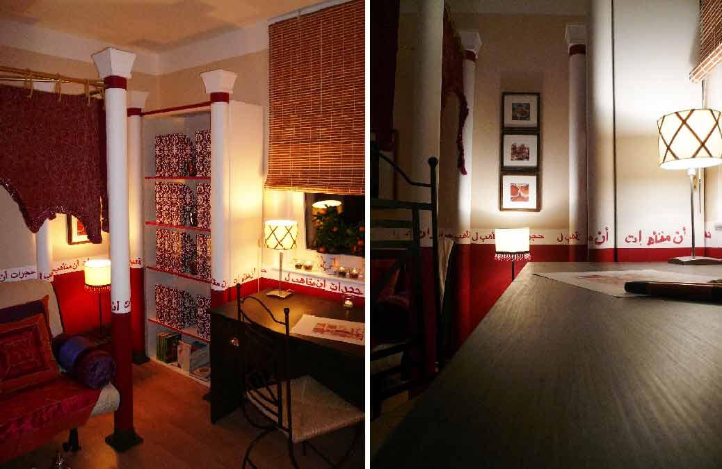 Orientzimmer-Innenarchitekt-Planung