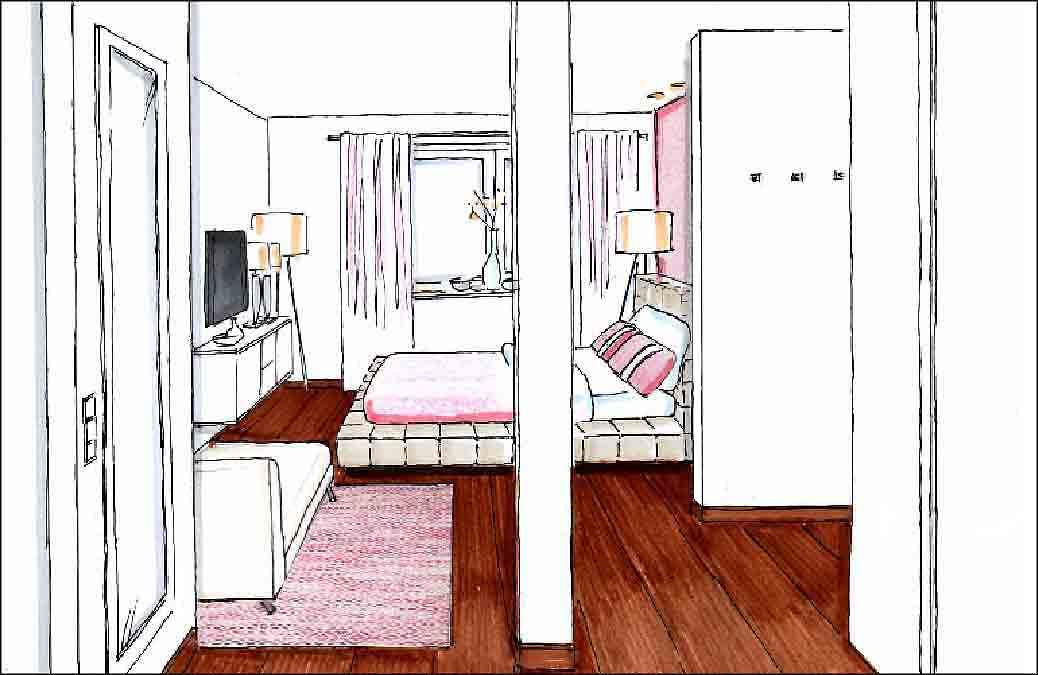 Projekte-Schlafzimmer-Innenarchitekt-Planung