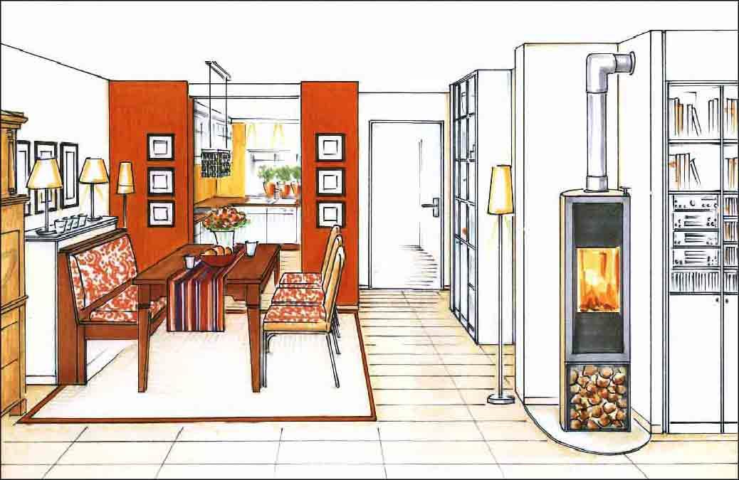 Projekte-Wohnzimmer-Innenarchitekt