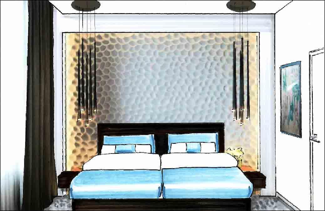 Schlafzimmer-Innenarchitekt-Referenzen