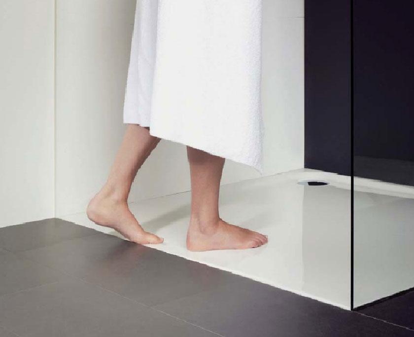 barrierefrei bauen mit bodengleicher Dusche
