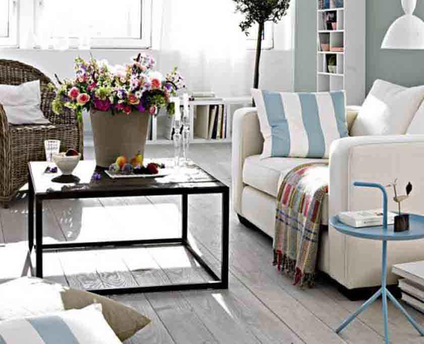 online Planung Einrichtungsberatung des Wohnzimmers